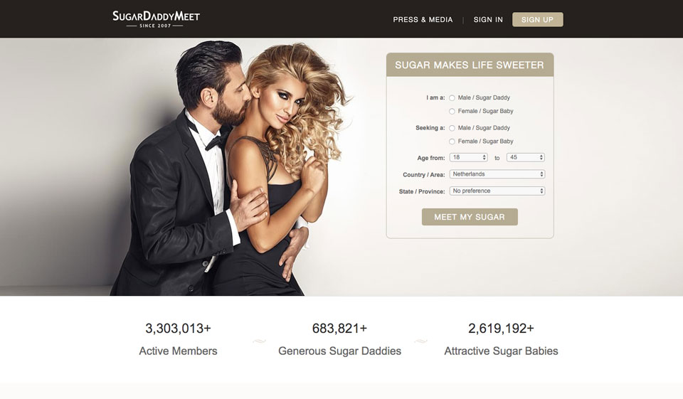 SugarDaddyMeet Review – find partner for mutually beneficial relationships